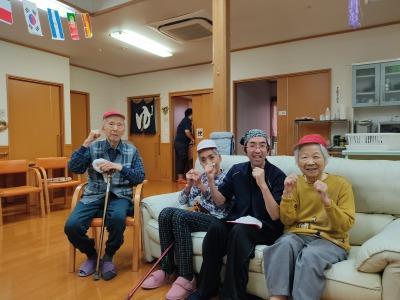 介護 人吉 グループホーム 運動会